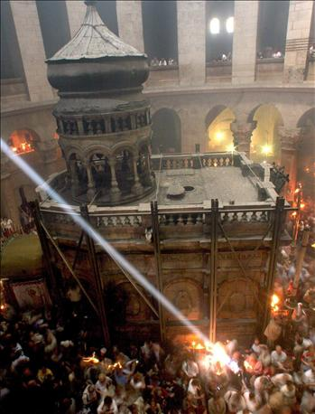 Πατριαρχείο Ιεροσολύμων – Πρόγραμμα ακολουθιών στον Ιερό Ναό Κωνσταντίνου και Ελένης