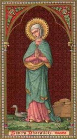 Αγία Φαραΐλδις (St Pharaildis): Μια Ορθόδοξη Αγία του Βελγίου & της Γαλλίας (+740)