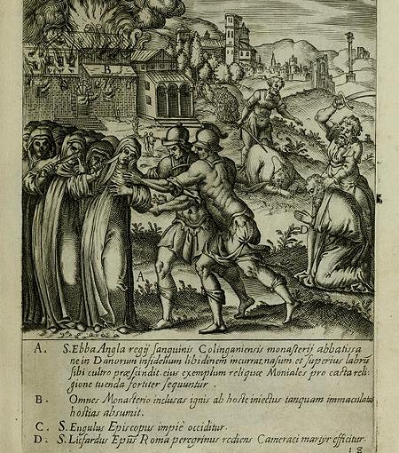 Ο Μαρτυρικός Θάνατος της Οσίας Έμπας- Αφιέρωμα στους Ορθόδοξους Οσιομάρτυρες της Δύσης