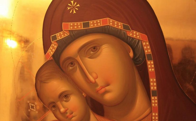 Akathist to the Most Holy Theotokos -Kontakion 1, 8th Tone
