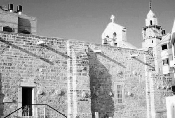 Η Ελληνική Ορθόδοξη Βυζαντινή Εκκλησία του Αγίου Πορφυρίου στη Γάζα