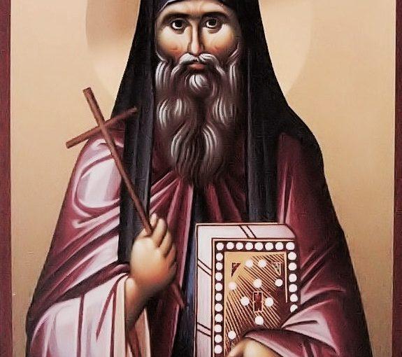 Ο Άγιος Ιωάννης ο Χοζεβίτης – ποίηση της Σοφίας Κιόρογλου