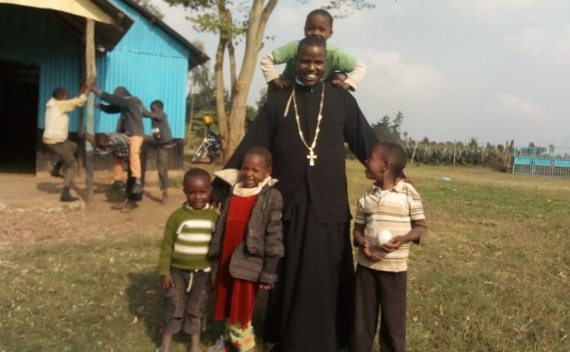 Thank you note to Promachos for its missionary work to St Timon's Church in Kenya