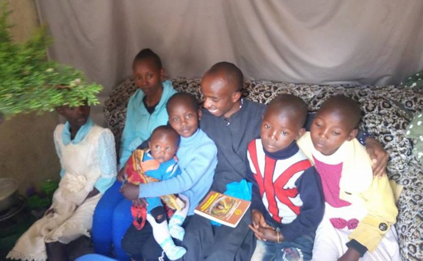The doors were installed at Archangel's Church in Kenya – Promachos Family needs your help to support him