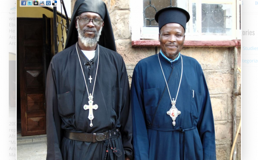 Sad news about Bishop Athanasius Akunda- He passed away after a long stay in the ICU